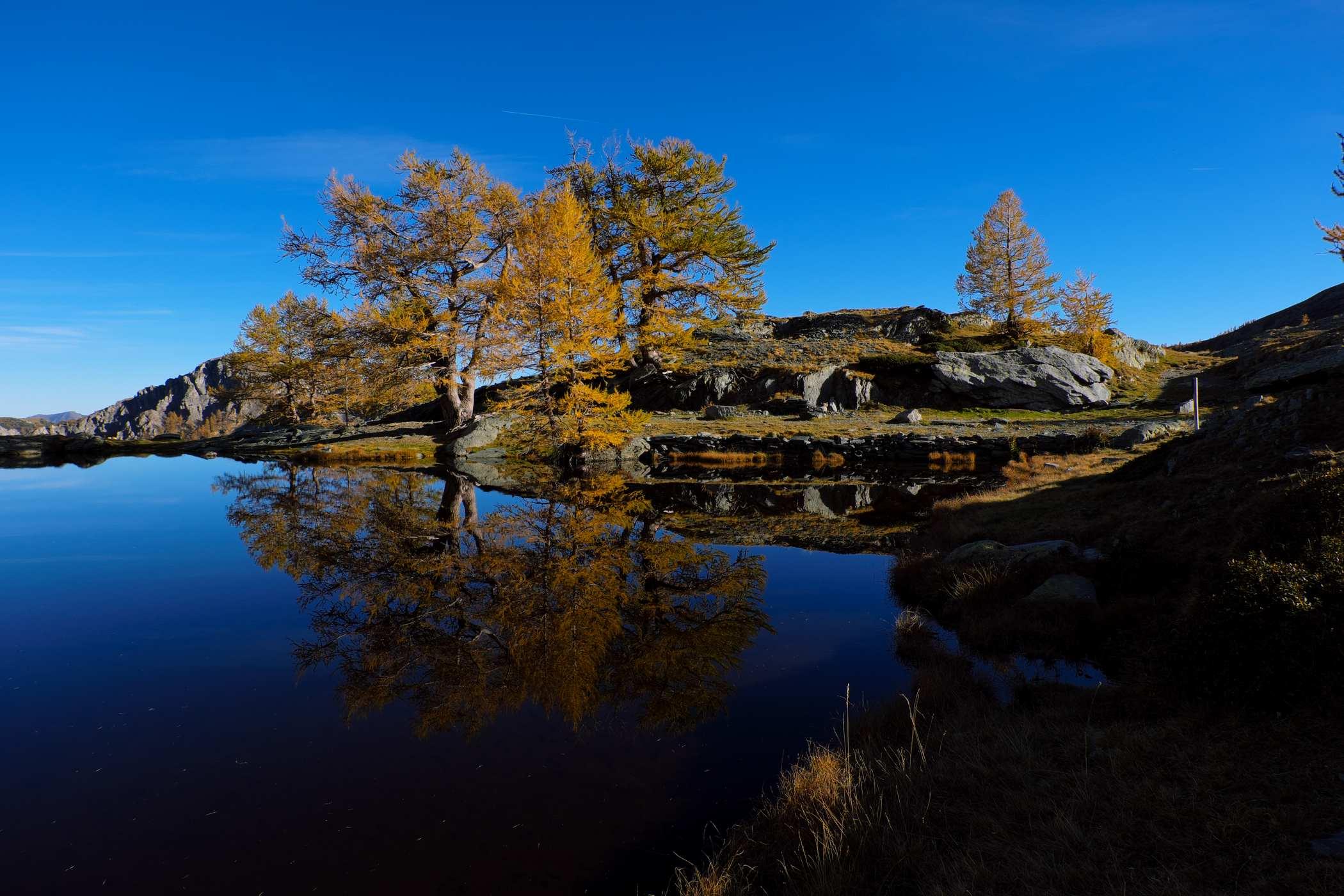 Le lac du Mercantour